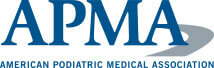 Logo Recognizing Dr. Bruce A. Scudday DPM, PA's affiliation with American Podiatric Medical Association