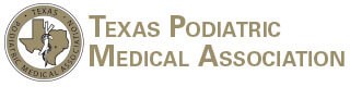 Logo Recognizing Dr. Bruce A. Scudday DPM, PA's affiliation with Texas Podiatric Medical Association